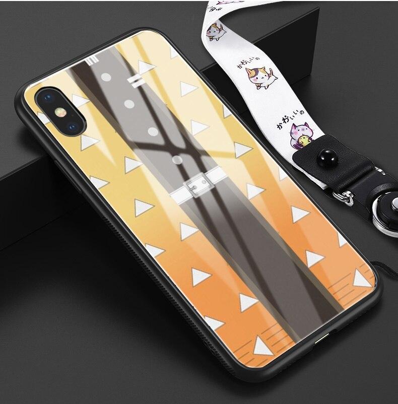 Coque iPhone Zenitsu Demon Slayer