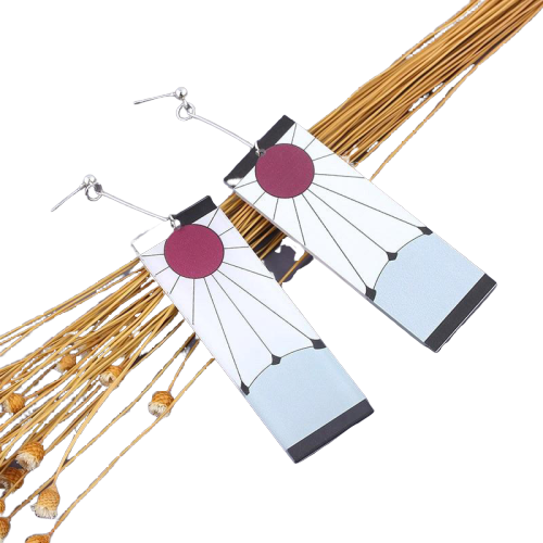 boucles d oreilles tanjiro   3