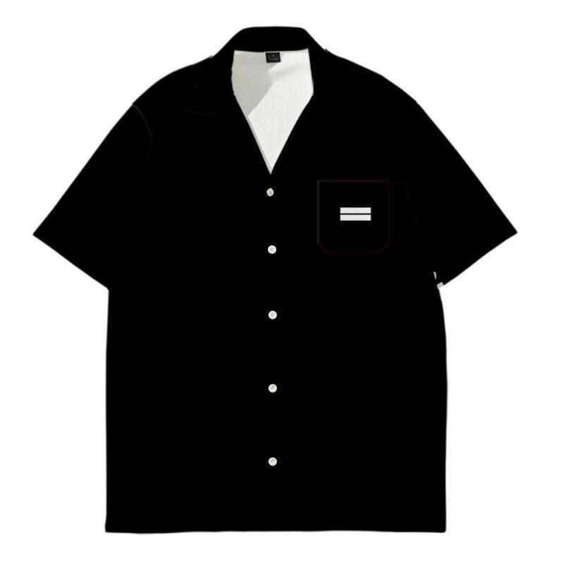 chemise demon slayer noir 9