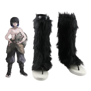 cosplay demon slayer chaussures inosuke