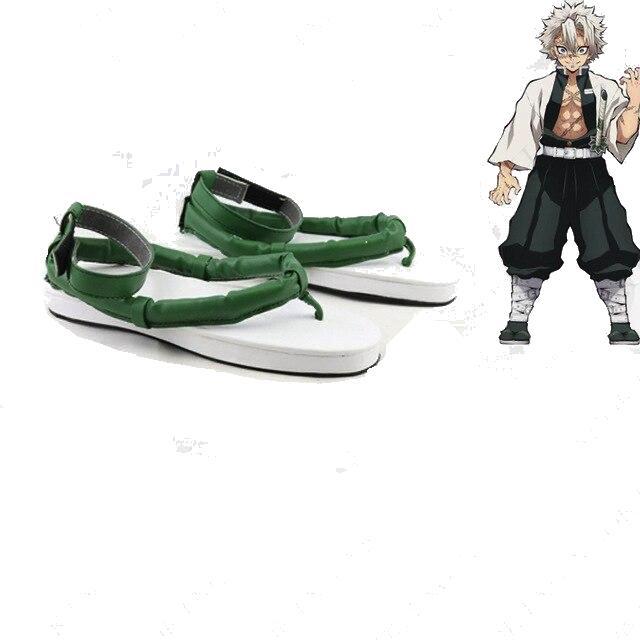cosplay demon slayer sanemi chaussures