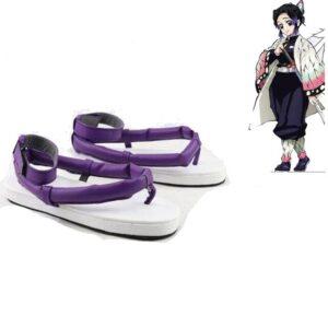 cosplay demon slayer shinobu chaussures