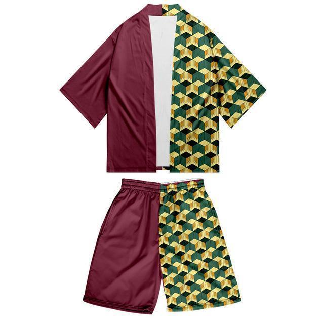 kimono demon slayer tenue giyu tomioka   38