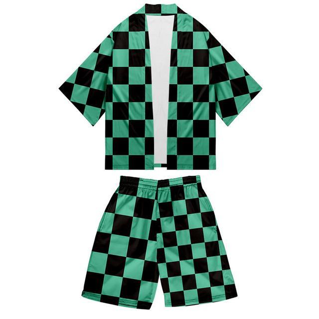 kimono demon slayer tenue tanjiro 40