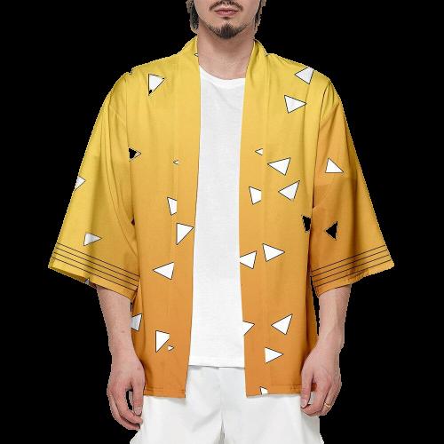 kimono demon slayer zenitsu  46