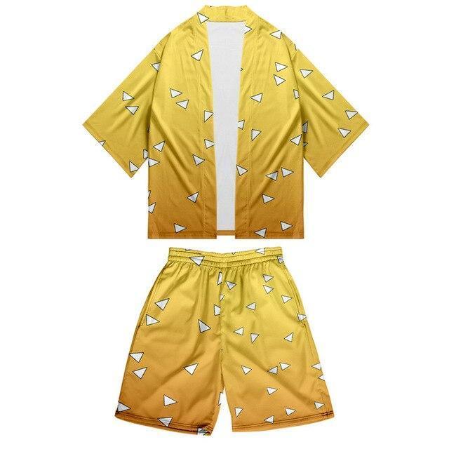 kimono demon slayer zenitsu   41