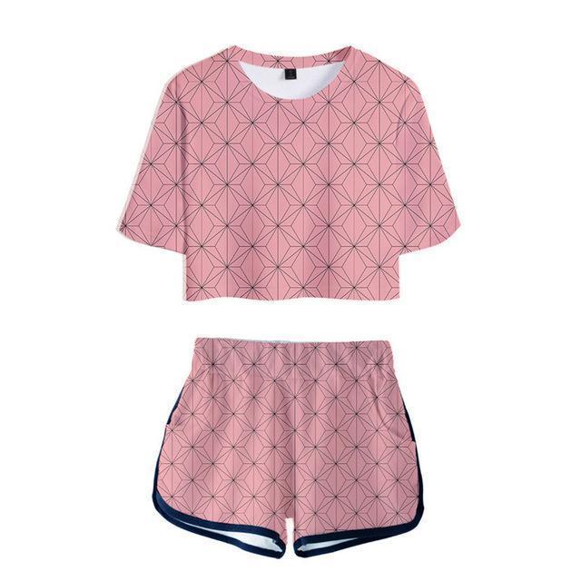 pyjama femme demon slayer nezuko 75