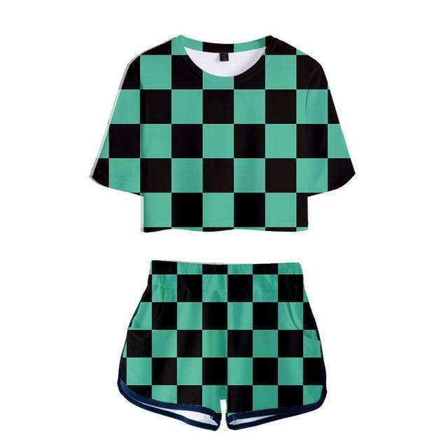 pyjama femme demon slayer tanjiro   78