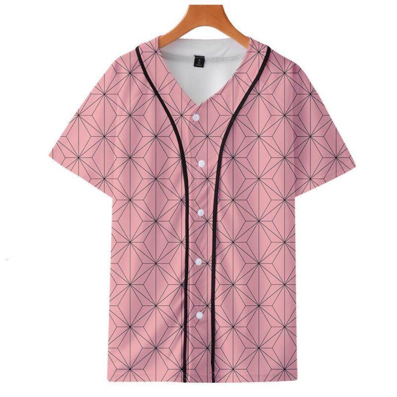 t shirt demon slayer nezuko baseball   127