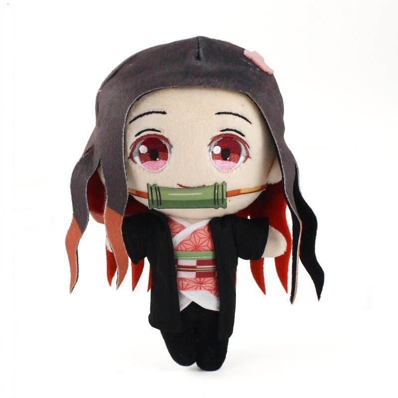 21cm Kamado Nezuko emon tueur jouets en peluche kochou shi variants 2