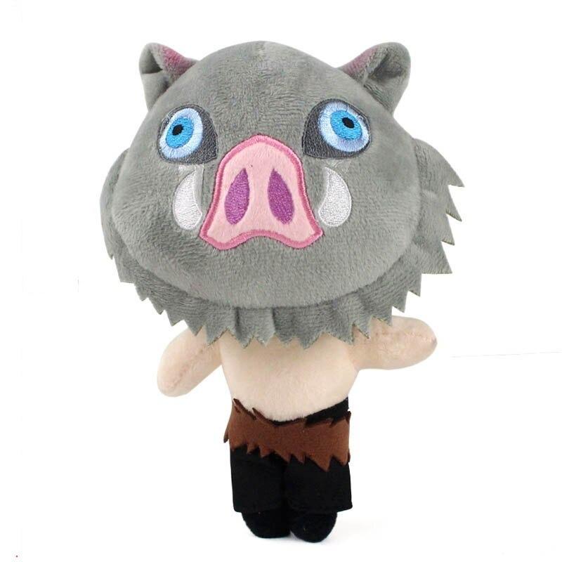 22cm Inosuke emon tueur jouets en peluche kochou shi variants 7