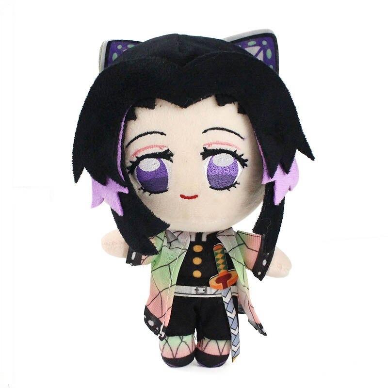 23cm Kochou Shinobu emon tueur jouets en peluche kochou shi variants 0
