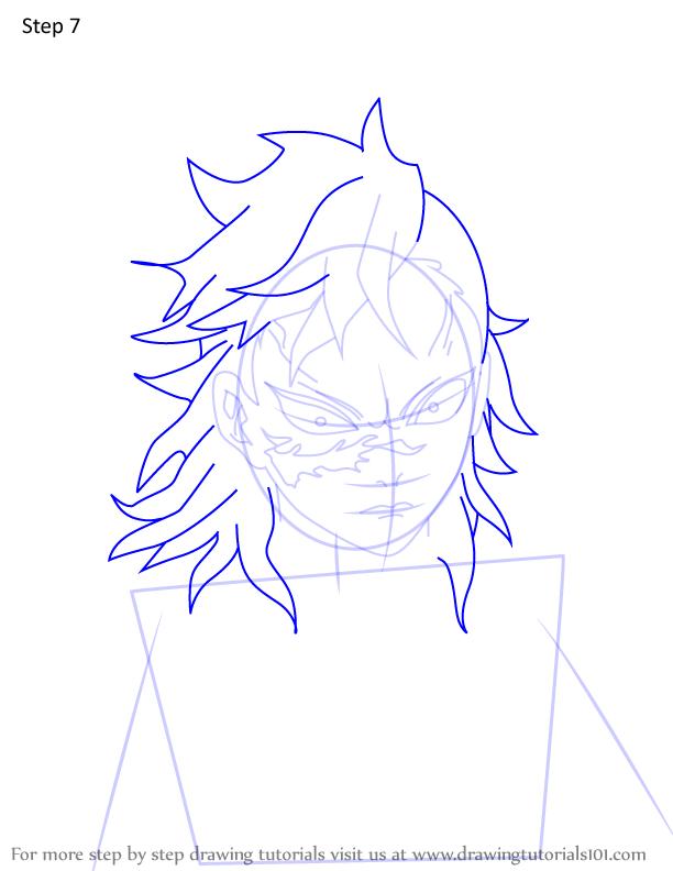 Comment dessiner Genya Shinazugawa Demon Slayer 7
