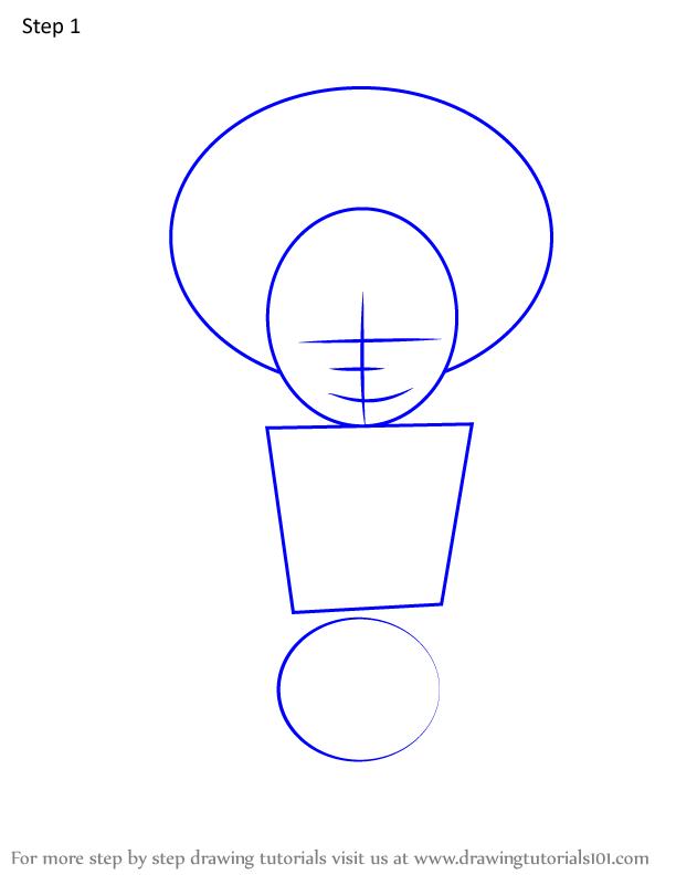Comment dessiner Hisa Demon Slayer 1