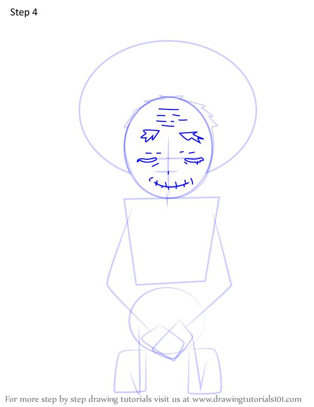 Comment dessiner Hisa Demon Slayer 4