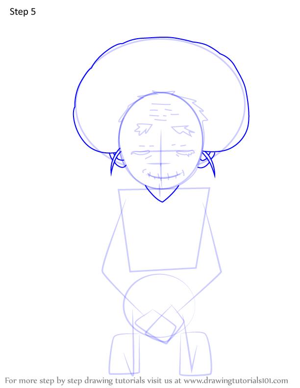 Comment dessiner Hisa Demon Slayer 5