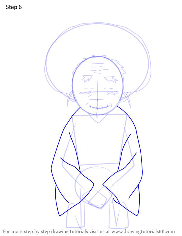 Comment dessiner Hisa Demon Slayer 6