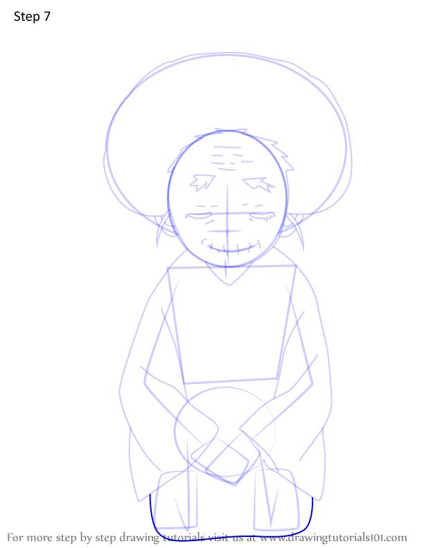 Comment dessiner Hisa Demon Slayer 7