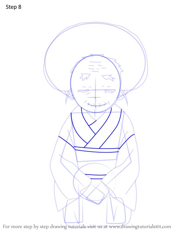 Comment dessiner Hisa Demon Slayer 8