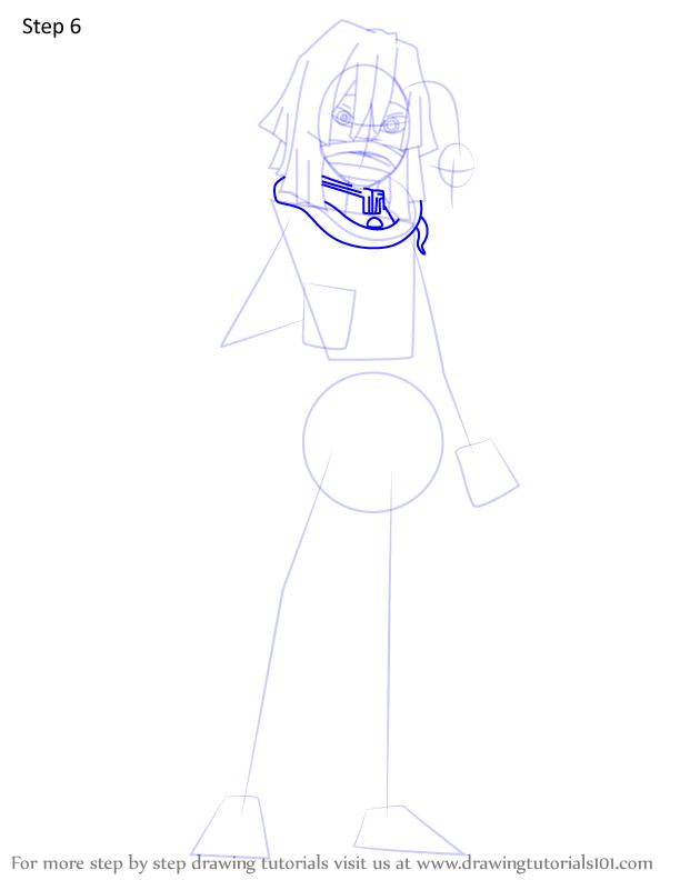 Comment dessiner Iguro Obanai Demon Slayer 6