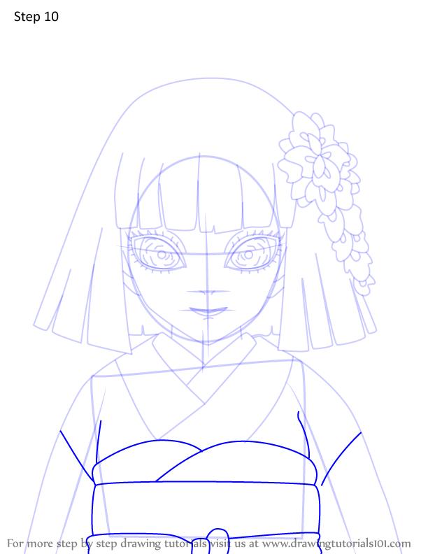 Comment dessiner Kiriya Ubuyashiki Demon Slayer 10