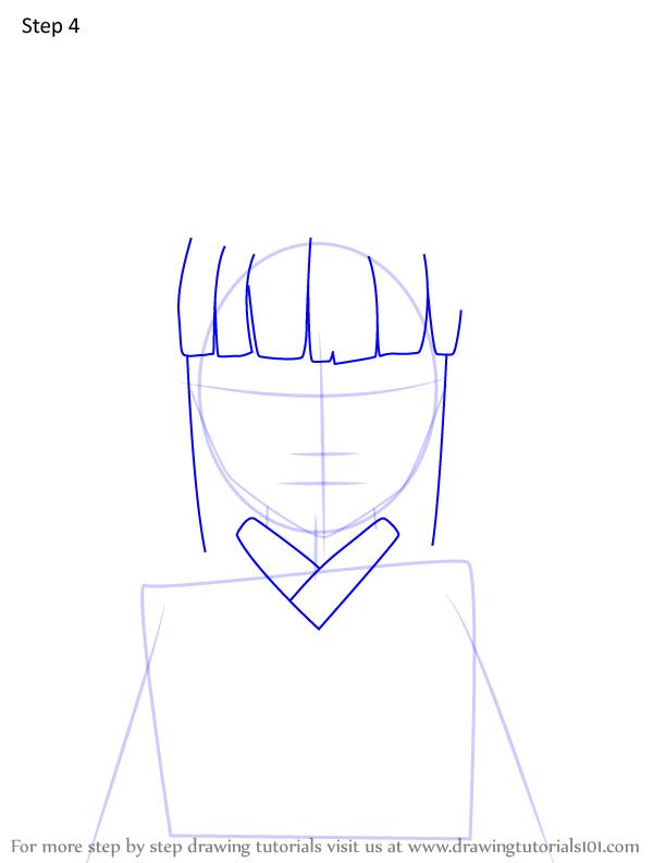 Comment dessiner Kiriya Ubuyashiki Demon Slayer 4