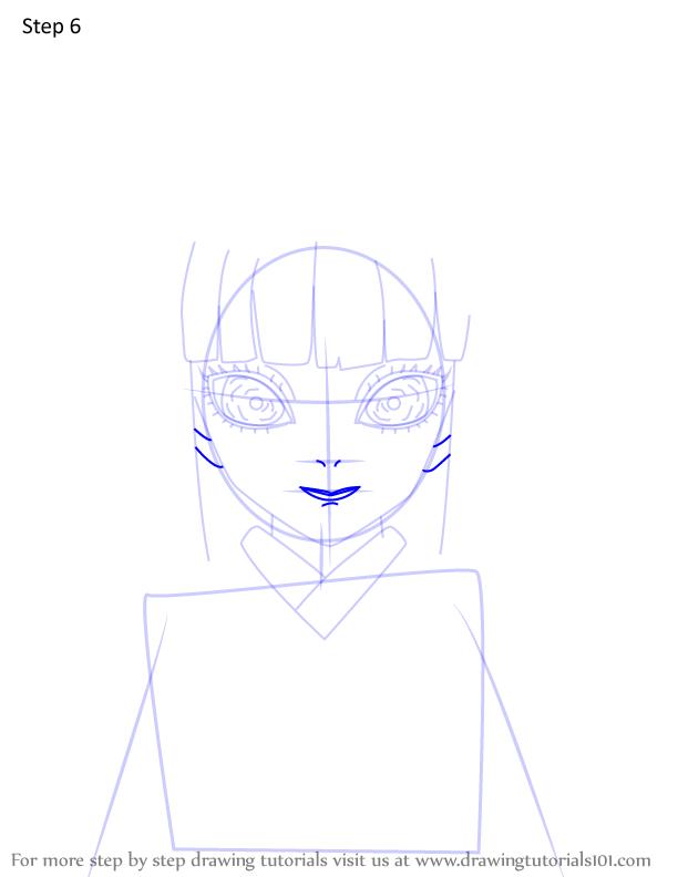 Comment dessiner Kiriya Ubuyashiki Demon Slayer 6