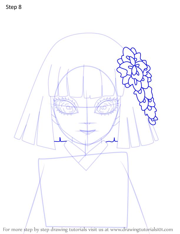Comment dessiner Kiriya Ubuyashiki Demon Slayer 8