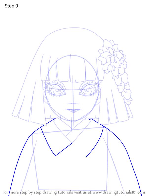 Comment dessiner Kiriya Ubuyashiki Demon Slayer 9