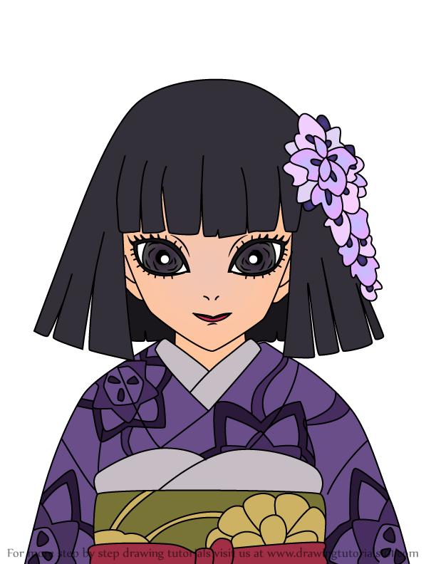 Comment dessiner Kiriya Ubuyashiki Demon Slayer
