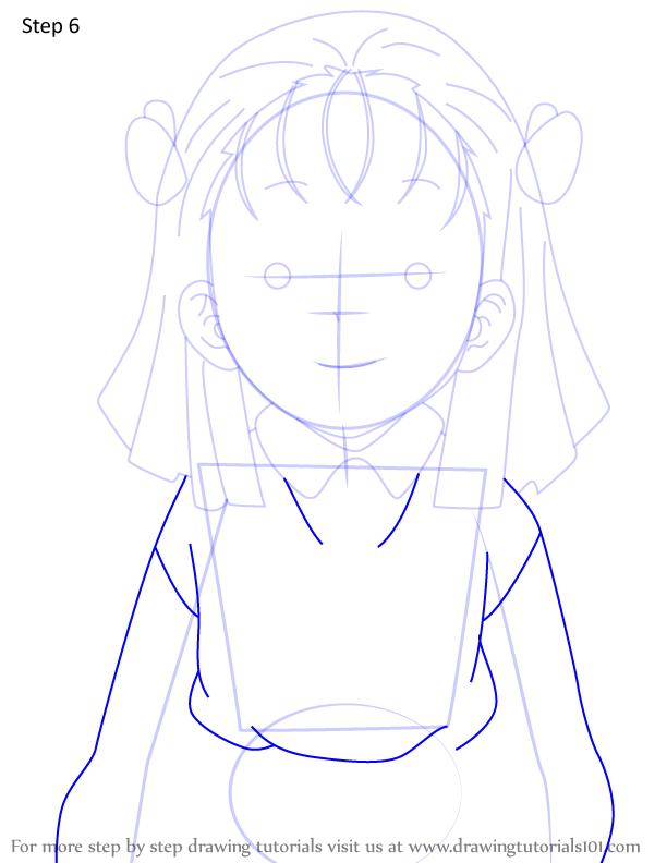 Comment dessiner Kiyo Terauchi Demon Slayer 6