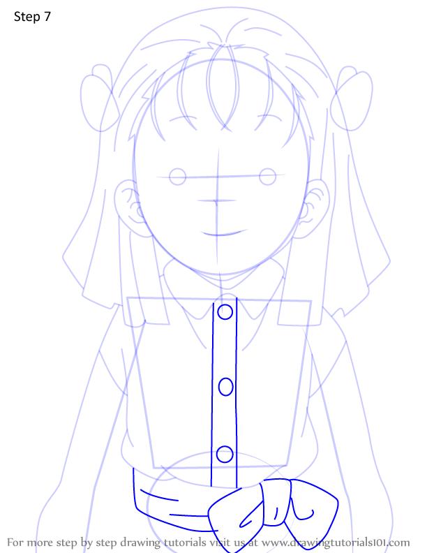 Comment dessiner Kiyo Terauchi Demon Slayer 7