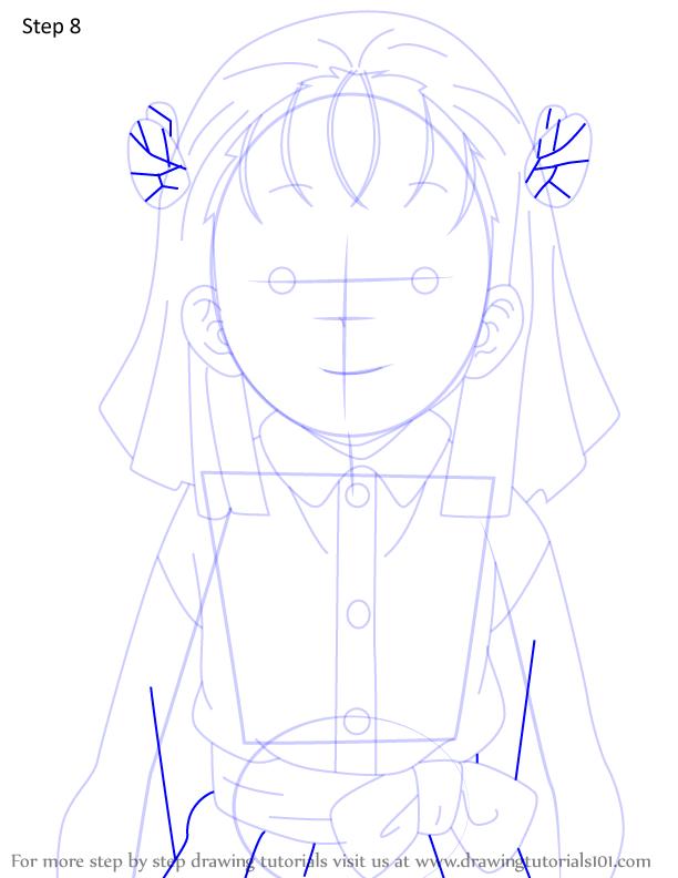 Comment dessiner Kiyo Terauchi Demon Slayer 8