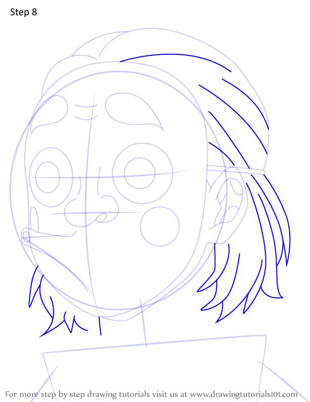 Comment dessiner Kozo Kanamori Demon Slayer 8