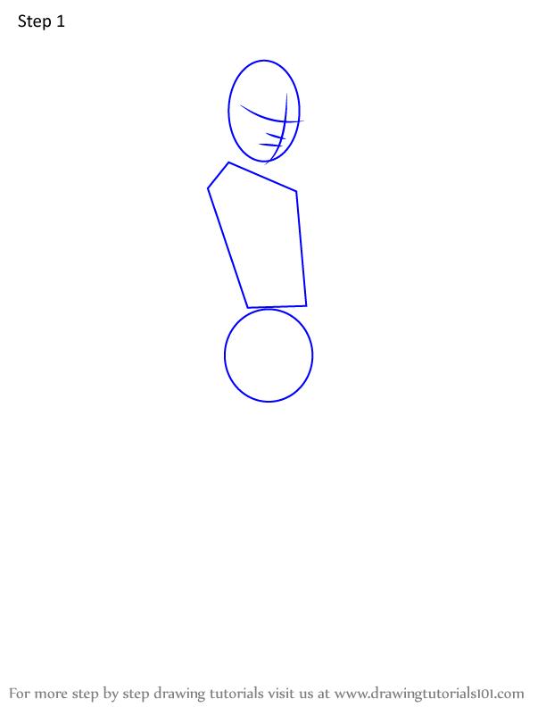Comment dessiner Sabito Demon Slayer 1