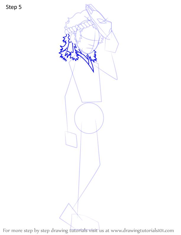 Comment dessiner Sabito Demon Slayer 5