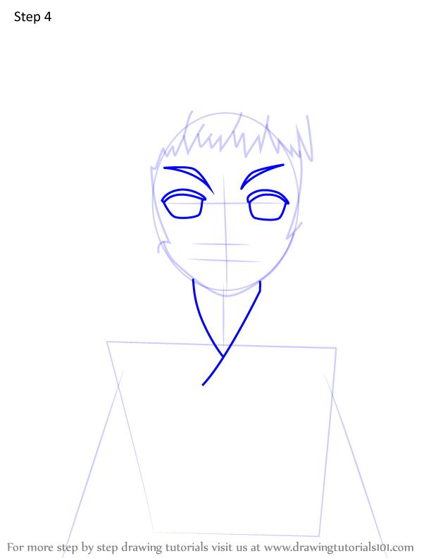 Comment dessiner Susamaru Demon Slayer 4