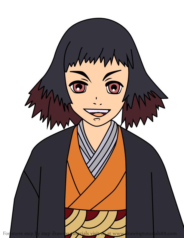 Comment dessiner Susamaru Demon Slayer