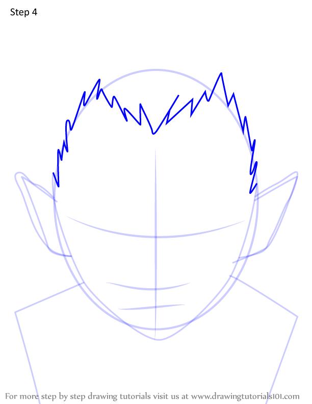 Comment dessiner Wakuraba Demon Slayer 4