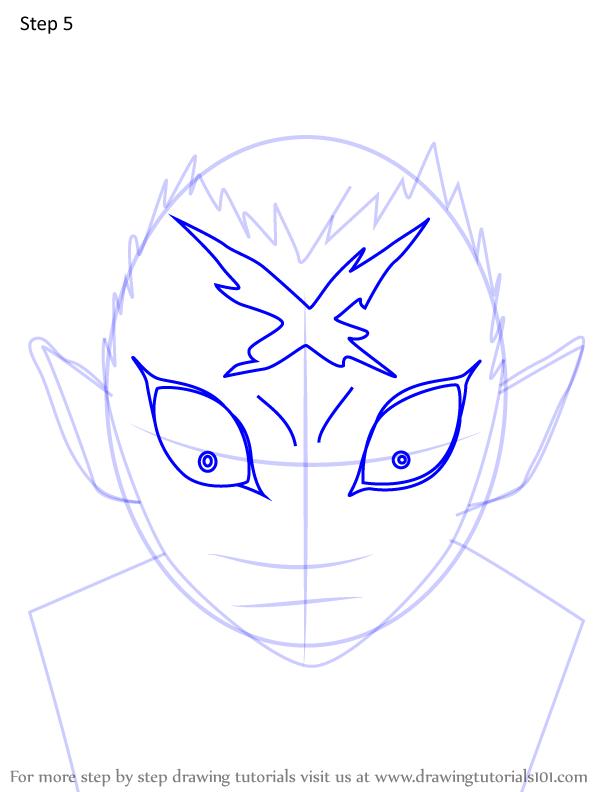 Comment dessiner Wakuraba Demon Slayer 5