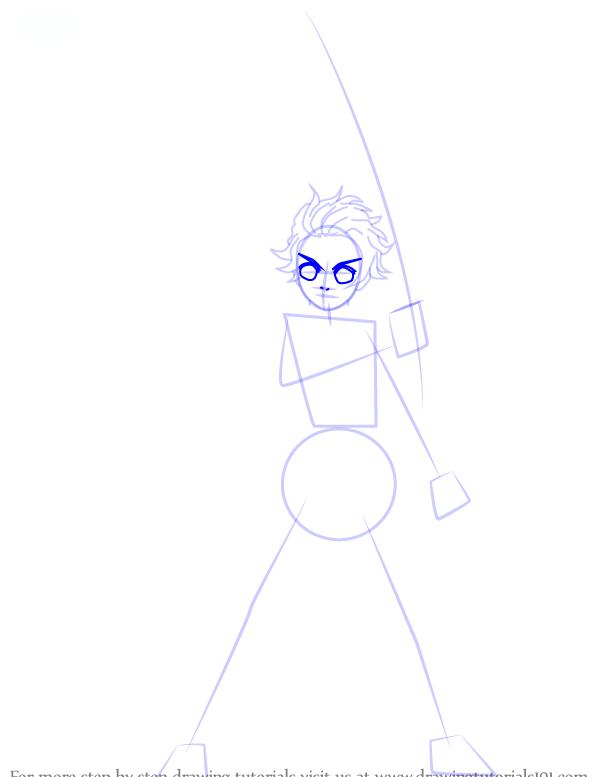 Comment dessiner tanjiro kamado demonslayer 5 1