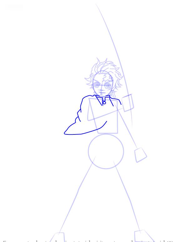 Comment dessiner tanjiro kamado demonslayer 7 1