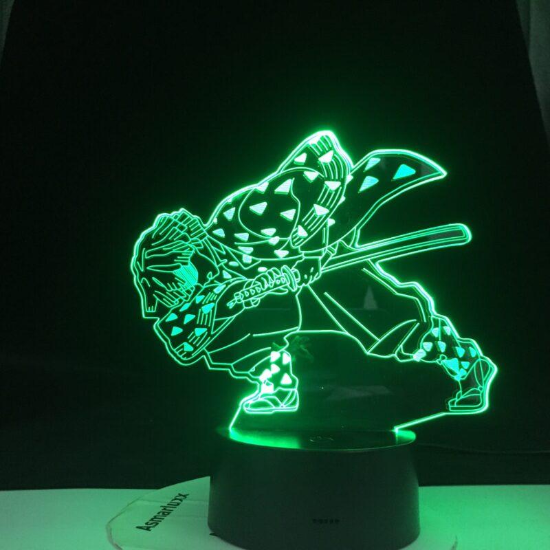 enitsu lampe 3 d led agatsuma en epee v main 0