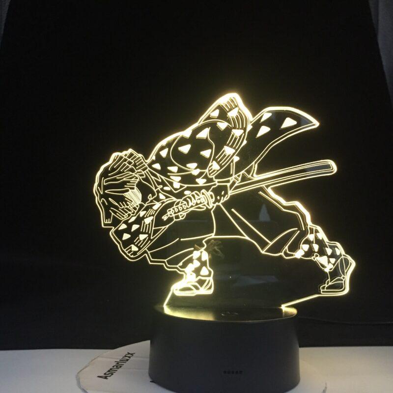 enitsu lampe 3 d led agatsuma en epee v main 2