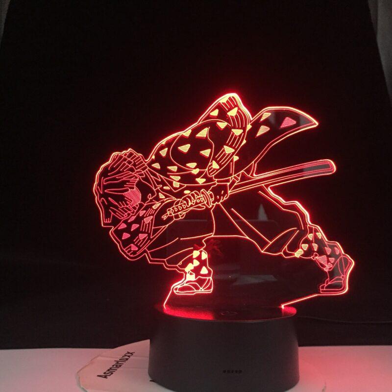 enitsu lampe 3 d led agatsuma en epee v main 3