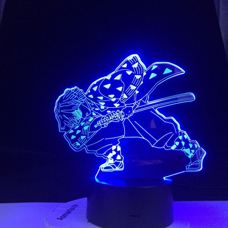 enitsu lampe 3 d led agatsuma en epee v main 4