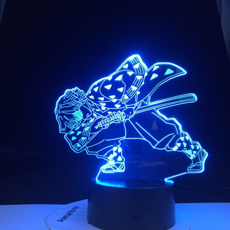 enitsu lampe 3 d led agatsuma en epee v main 5