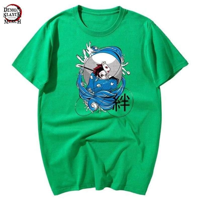 kimetsu no yaiba tanjiro t shirt demon slayer merch 776