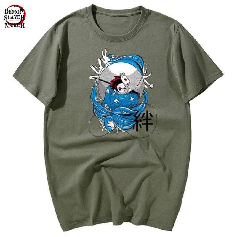 kimetsu no yaiba tanjiro t shirt demon slayer merch 949
