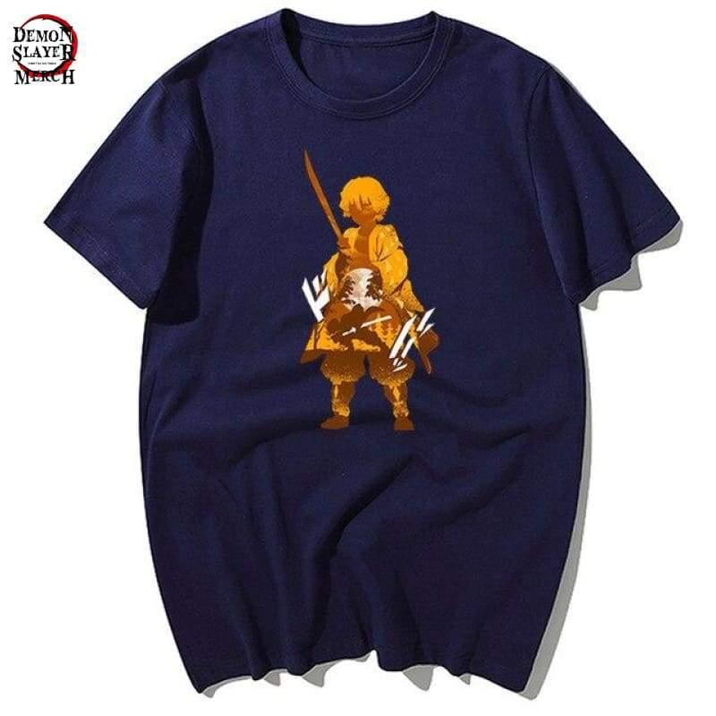 zenitsu agatsuma shirt demon slayer merch 503
